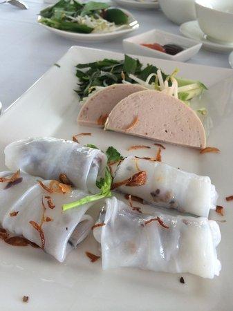 Villa Song Saigon : Banh Cuons served at Bistro Song Vie
