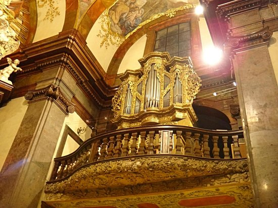St. Francis of Assisi Church: Prague St. Francis od Assisi organ