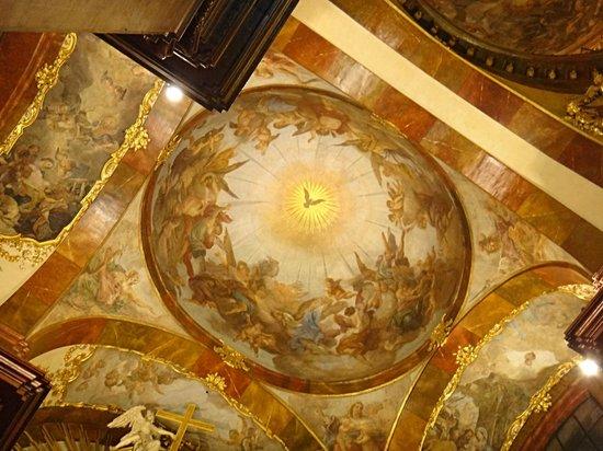 St. Francis of Assisi Church: Prague church St. Francis of Assisi fresco
