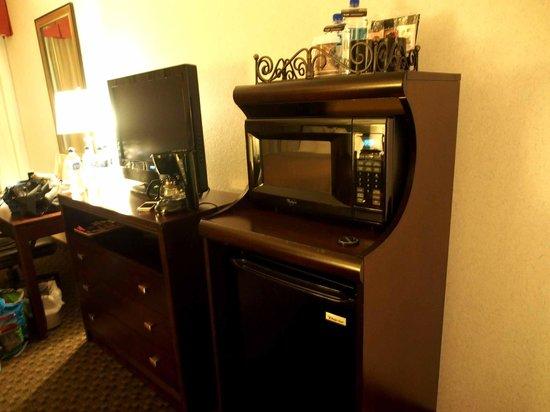 Carlsbad by the Sea Resort : microwave in room