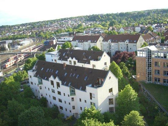 Pullman Fontana Stuttgart: View from our 9th floor room