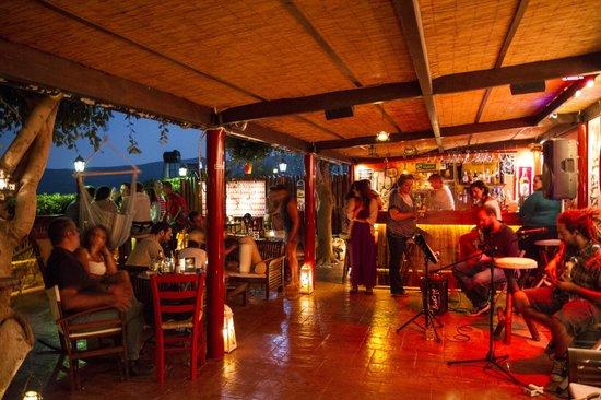 Garten Bar Kaliviani Kissamos Crete Picture Of Garten Bar