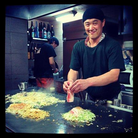 Hassei: The chef!