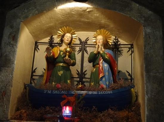 Église des Saintes-Maries : マリアサロメとマリアヤコブ