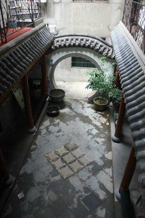 MYFO Wanshunyuan Inn: Yard