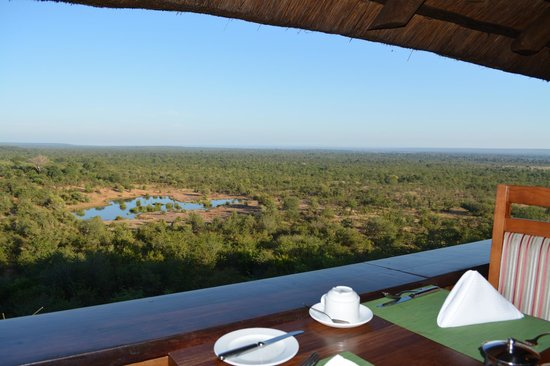 Victoria Falls Safari Lodge: View from the restaurant