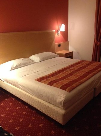 Grand Hotel Milano Malpensa: Letto
