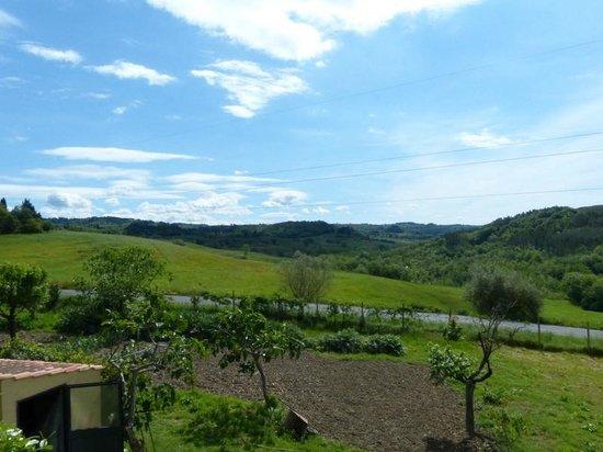 La Certaldina ligt in prachtige omgeving