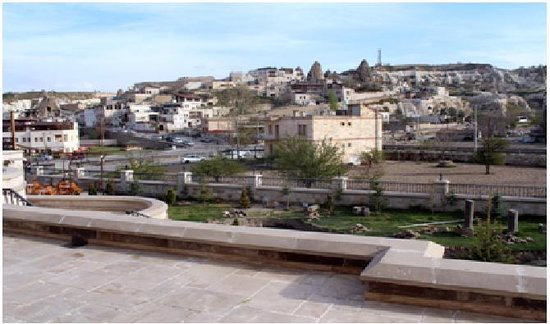 Goreme Inn Hotel: vista desde la terraza