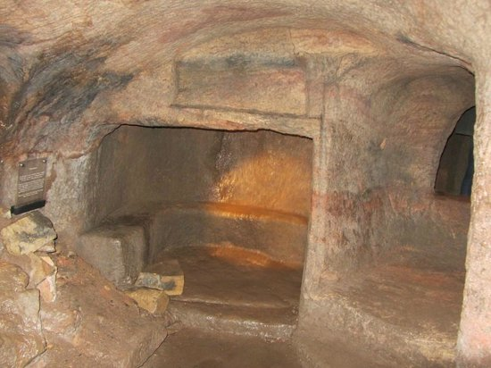 "Gilmerton Cove: ""fire place"""