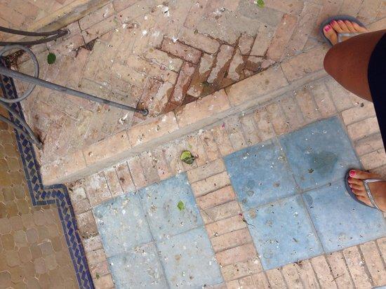 Hotel Marrakech le Tichka : Le sol