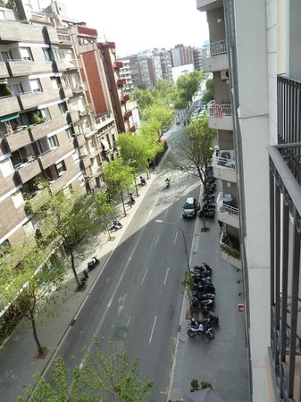 Up Suites Bcn: View from balcony
