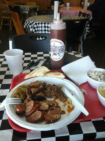 Tyler's Barbecue: great Lunch