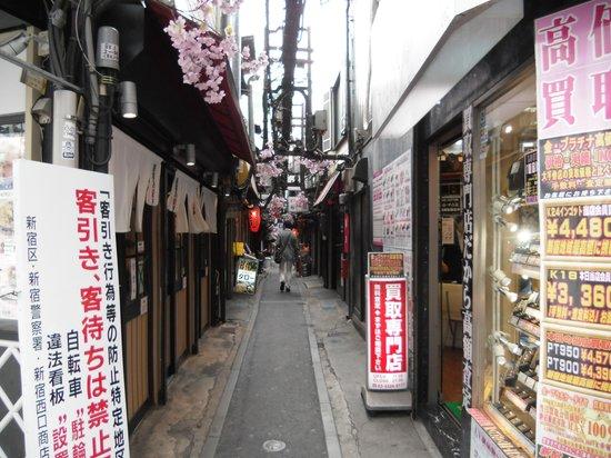 Omoide Yokocho: 路地