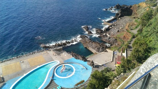 Madeira Regency Cliff: View from above