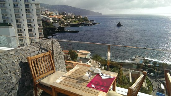 Madeira Regency Cliff : Breakfast Area