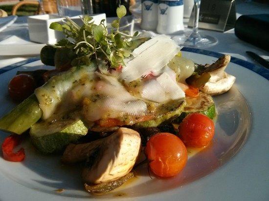 Iberostar Anthelia: Grilled vegetable starter at Portofino