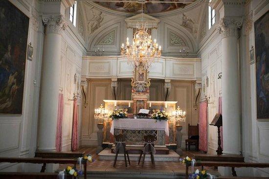 Fattoria e Villa di Rignana: Kerkje interieur