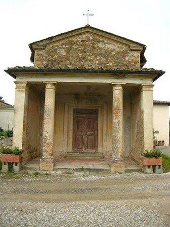 Fattoria e Villa di Rignana: Het kerkje