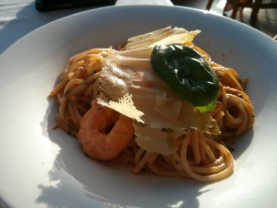 Iberostar Anthelia: Spaghetti with shrimps at Portofino