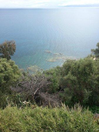 VOI Baia di Tindari Resort : Vista Baia dal Santuario