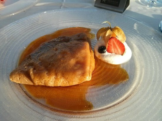 Iberostar Anthelia: Crepe with apple at Portofino