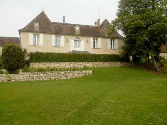 La Chartreuse du Bignac : Côté jardin