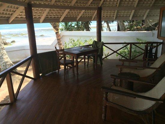 Rockside Cabanas Hotel: cabana wiew
