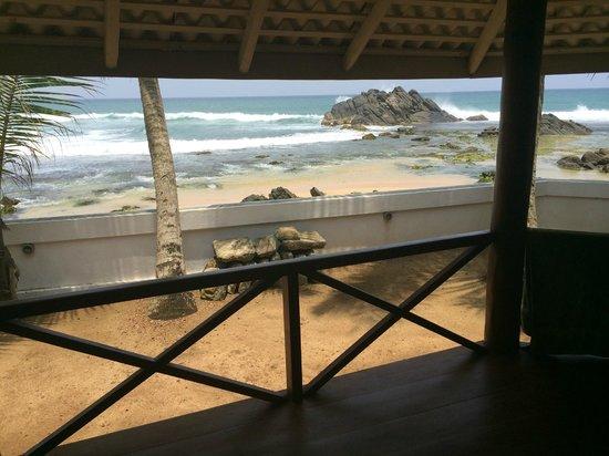 Rockside Cabanas : cabana wiew
