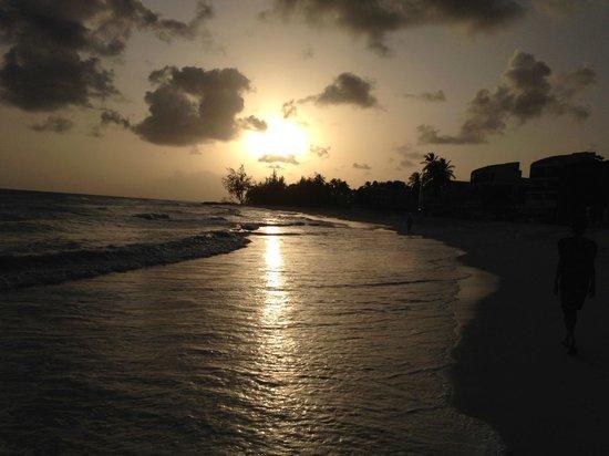 Infinity on the Beach: Beach at Sunset