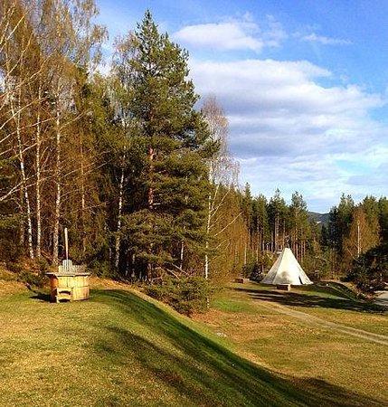 Sjoa Gjestehus & Vandrerhjem: Отличные виды и возможность для прогулки