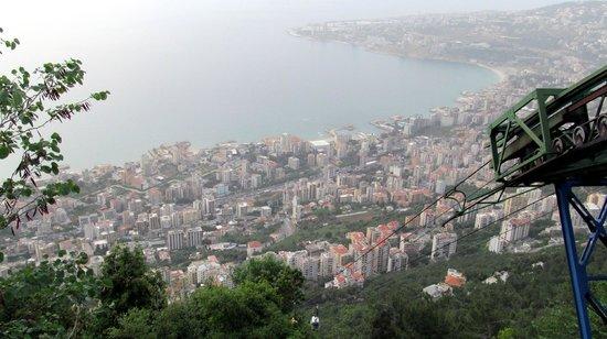 Unsere liebe Frau vom Libanon (Harissa): Канатная дорога