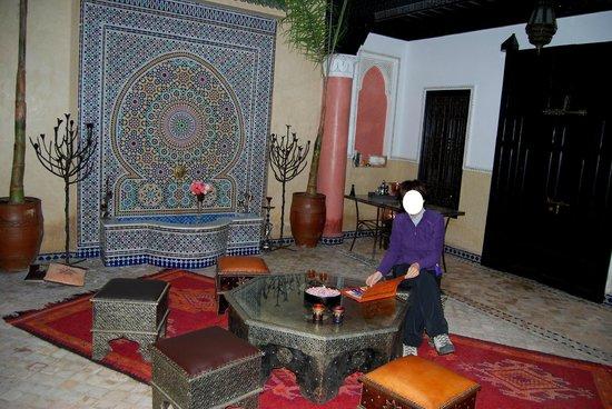 Riad Princesse du Desert: Relax nel Patio