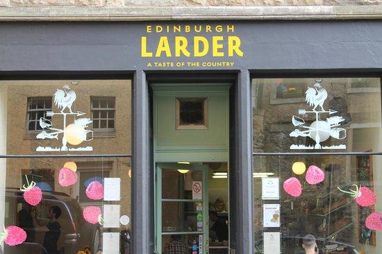 Photo of Cafe Edinburgh Larder Cafe at 15 Blackfriars Street, Edinburgh EH1 1NB, United Kingdom