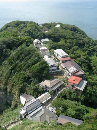 Enoshima Island : Вид с Маяка