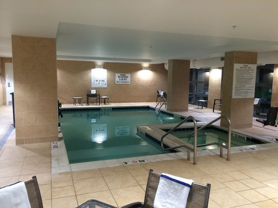 Hilton Garden Inn Washington DC/US Capitol : Indoor Pool