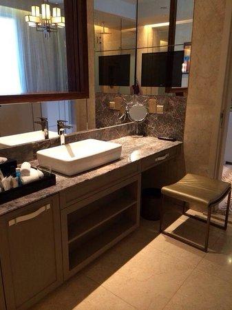 Resorts World Sentosa - Equarius Hotel: Huge toilet