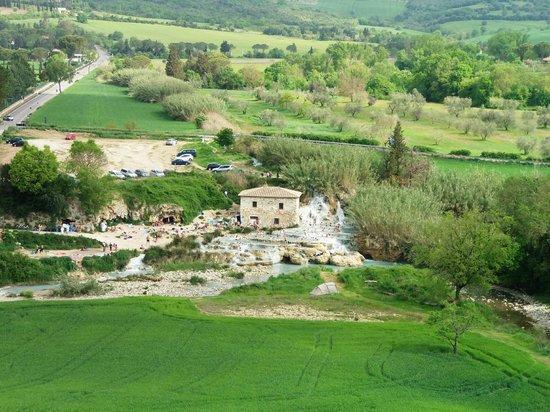 Cascate del Mulino : Panorama