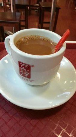 Ya Kun Kaya Toast: Milk Tea~