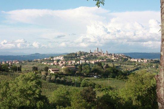 Villa Baciolo: Het uitzicht