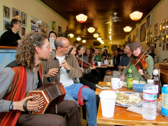 Bagitos: Irish Music Session every Saturday 2-5pm