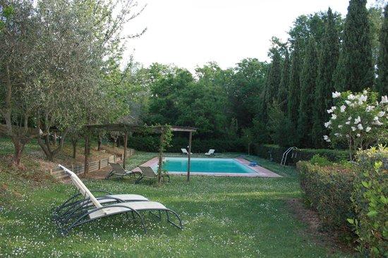 Villa Baciolo: Zwembad