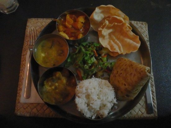 Aquarius On The Beach : poulet curry