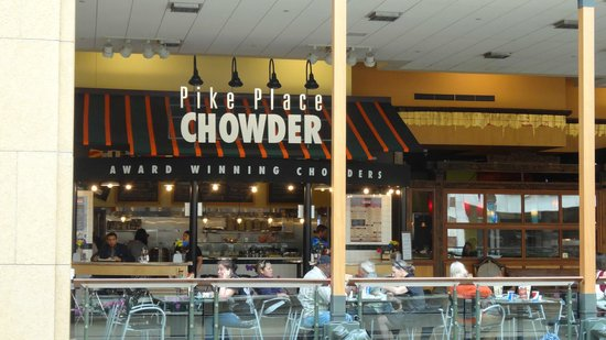 Photo of American Restaurant Pike Place Chowder at 600 Pine St, Seattle, WA 98101, United States