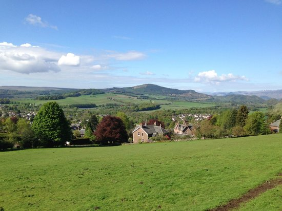 Crieff Hydro Hotel and Resort: View from walking path