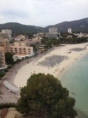 Globales Santa Lucia Hotel: Towards Palma Nova from 8th/top floor