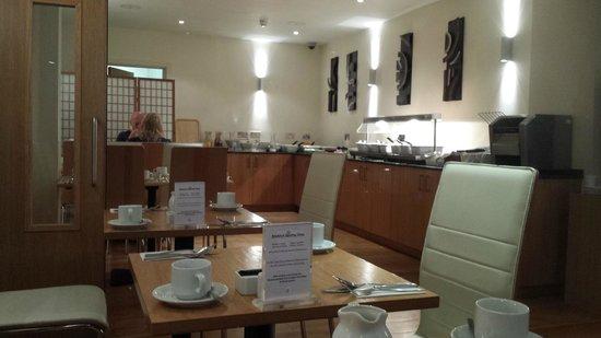 Best Western The Cromwell : Salle du petit déjeuner
