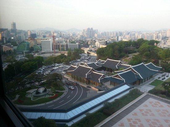 The Shilla Seoul : View in day