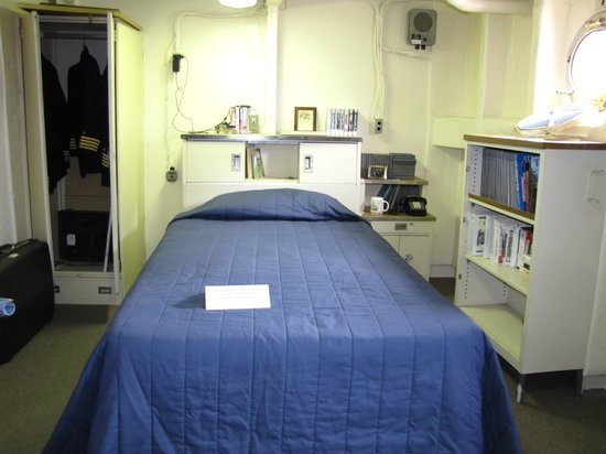 USS Wisconsin: Officer Quarters