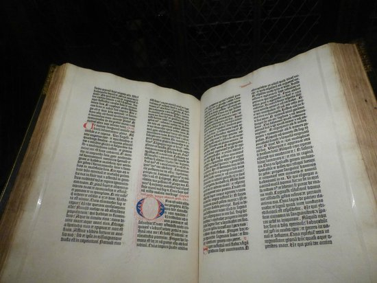 The Morgan Library & Museum: La Bibbia di Gutenberg